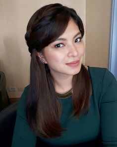 Lotd Angel Locsin Wore Long Hair For A Day And Heres How She Did It Preview Ph