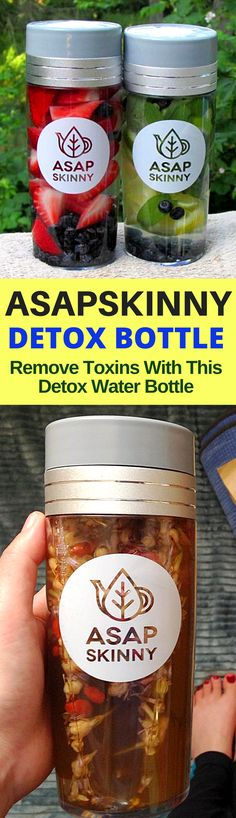 Detox & Cleanse with ASAPSKINNY! This is a MUST HAVE Detox Bottle for Everybody. It Even Comes with a FREE Strainer/Steeper for Detox Fruits, Loose Leaf Tea and Coffee! Hurry, Selling Out FAST! SHOP NOW ➡ www.asapskinny.com