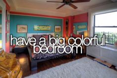 Bucket list must do/have