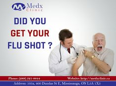 It's Not Just A FLU, It Can Take You To The Bed Rest. Don't Worry Medx Clinic Is Here To Protect You, Visit Our Clinic & Get Your FLU Shot Vaccination To Be Safe. For Info & Appointment: Call: 289-521-8844 Or 289-521-8845 #Doctor #Health #Care #Clinic #Recovery #GoodHealth #GoodWealth