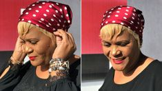 Three Ways To Tie A Head Scarf For Bad Hair Days