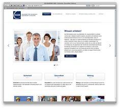 Webdesign: SGB AKADEMIE by Fiebak