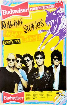 Rolling Stones Tour Poster