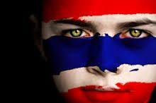 Thailand face flag