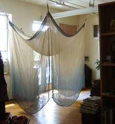 Japanese Mosquito Net - Kaya.    http://www.etsy.com/listing/113684429/japanese-mosquito-net-kaya