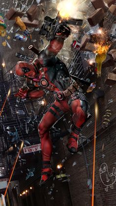 Deadpool Created by John Gallagher (Uncanny Knack) / Find this artist on Website & DeviantArt / More Arts from this Artist on my Tumblr HERE