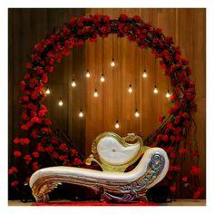 Reception Stage Decor, Wedding Stage Design, Wedding Reception Backdrop, Indian Wedding Stage, Reception Decorations, Desi Wedding Decor, Luxury Wedding Decor, Floral Wedding Decorations, Backdrop Decorations