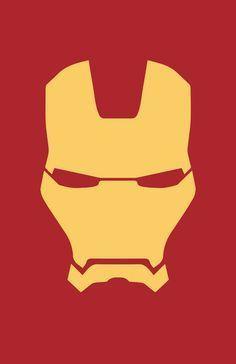 Iron Man minimalist helmet design by Minimalist Heroes. Iron Man Logo, Iron Man Symbol, Marvel Logo, Marvel Art, Marvel Avengers, Marvel Superhero Logos, Superhero Nails, Iron Man Wallpaper, Marvel Wallpaper