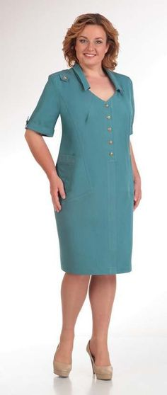 Dresses for obese women of the Belarusian company Novella Sharm, spring-summer Office Dresses For Women, Clothes For Women, Women's Fashion Dresses, Casual Dresses, Dresses For Apple Shape, Frock For Women, Curvy Fashion, Womens Fashion, Plus Size Fashion For Women