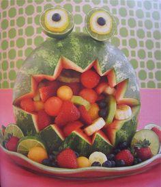 Watermelon monster (lime, lemon, olives) @jennyonthespot  made me think of you hedgermelon!