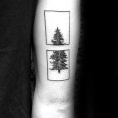 41 Ideas For Simple Tree Tattoo Men Tatoo Pine Tattoo, Tree Tattoo Arm, Back Of Arm Tattoo, Arm Tattoos For Guys, Tattoos For Women, Tattoos Masculinas, Tricep Tattoos, Tattoos Arm Mann, Trendy Tattoos