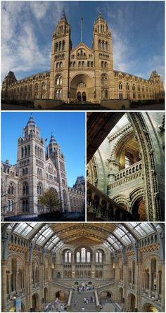 The Natural History Museum, Exhibition Road, South Kensington, London, England, UK.
