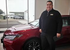 Join us in congratulating our Sales Pro, Brandon Beck - he's earned 1st Place in the District Camry  Walk-Around Competition! Next up: the Finals for the Toyota SF Region.