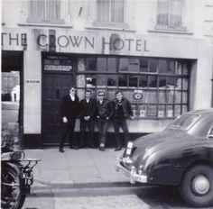 Crown Hotel, High St,Taunton,Somerset. ( demolished)