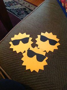 Sun door decs (great for summer)