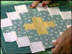 Quilt In A DAY-2710 Friendship and Christian Cross - Egg Money Quilts with Eleanor Burns. Eleanor takes you on a visit to country church at Sans Marcos, CA with some history and shares some beautiful quilts for the first 4 mins of the video. You then get to see the sample Christian Cross quilt block and sampler it's made for. YouTube video-25: 57 mins https://www.youtube.com/watch?v=kTABBVPBwzs&feature=em-uploademail