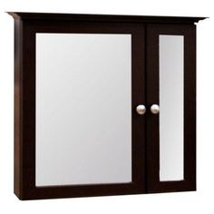 H Framed Surface Mount Bi View Bathroom Medicine Cabinet In Java