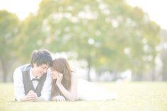 洋装 前撮り(ロケーション)|ギャラリー case.02 Pre Wedding Photoshoot, Engagement Inspiration, Love Couple, Park, Couple Photos, Couples, Wedding Dresses, Pictures, Photography