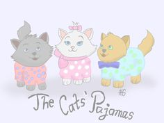 The Cats' Pajamas by FlipFlapjacks on @DeviantArt