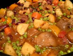 Unsausage stew, a recipe from an upcoming SpiderHawk cookbook