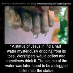 The best thing about this little story is that it is perfect a metaphor for the whole history of Christianity.