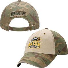 George Mason Patriots '47 Brand Operation Hat Trick Gordie Adjustable Hat – Camo