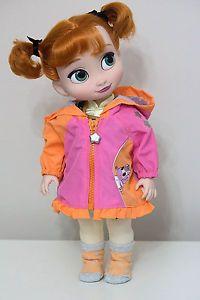 Anna Disney Animators Doll