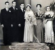 1930's Wedding