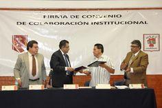 Firmaron la  UAT y Ayuntamiento de Tetlatlahuca  convenio de colaboración         Para servicio social y prácticas profesionales de estudiantes de la Licenciatura en Ciencias Políticas y Administración Pública