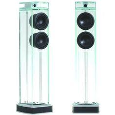 "#Waterfall Audio ""Niagara"" Diamond Glass #Floor Standing #Loudspeakers - $53,995.95 Pair"