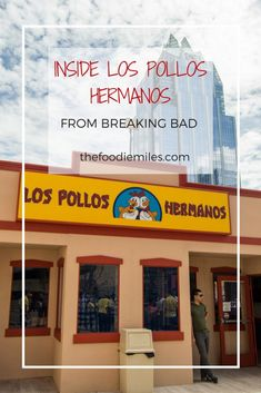 The notorious restaurant Los Pollos Hermanos from Breaking Bad TV-series opened in Austin, TX, for 3 days during SXSW! Take a virtual tour inside!