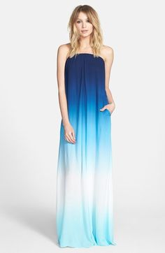 Ahhhhh - Summer!! Vacation!! Young, Fabulous & Broke 'Karissa' Strapless Maxi Dress | Nordstrom