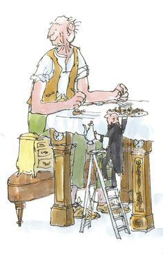 'The BFG' (Roald Dahl) by Quentin Blake