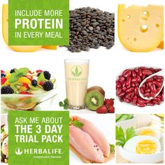 3 day trials available! Give it a go! HTTP://www.goherbalife.com/Lpiram/en-US