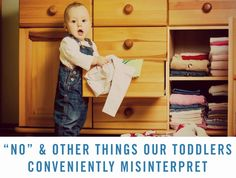 Is your baby boy or girl driving you crazy? Maybe they're just misinterpreting what you're saying! Whether you're trying to discipline them, give them food, or clean up toys, babies are going to do what they want.