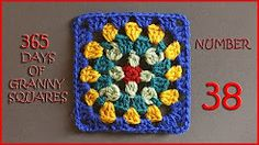 365 days of granny squares number 38 - YouTube