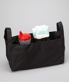 Another great find on #zulily! Black Diaper Bag Organizer by Idealogy Group #zulilyfinds