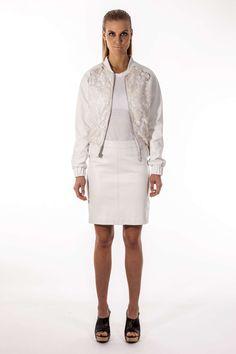 Stine Kim Design black and white outfit ss15 #blackandwhite