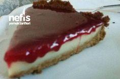 Parmak Yediren Vişneli Cheesecake