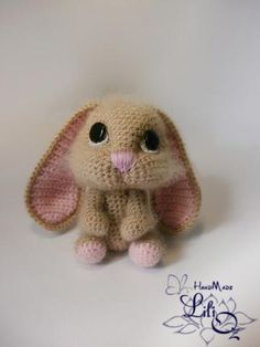 Mesmerizing Crochet an Amigurumi Rabbit Ideas. Lovely Crochet an Amigurumi Rabbit Ideas. Crochet Diy, Crochet Gratis, Crochet Amigurumi, Easter Crochet, Amigurumi Patterns, Crochet Dolls, Knitting Patterns, Crochet Patterns, Crochet Bunny Pattern