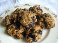 Quinoa Cookies with Dark Chocolate Chunks