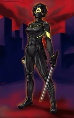 DeviantArt: More Like Cassandra Cain Black Bat Redesign by tsbranch Superhero Characters, Comic Book Characters, Comic Character, Female Characters, Character Design, Dc Comics Art, Comics Girls, Marvel Dc Comics, Batwoman