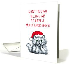 Missing you at Christmas, cross cat sketch illustration, humor card. Personalize any greeting card for no additional cost! Cards are shipped the Next Business Day. Cat Whisperer, F2 Savannah Cat, Cat Sketch, Cute Cats And Kittens, Funny Cards, Christmas Cross, Miss You, Holiday Cards, Cool Art