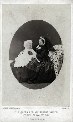 Queen Victoria and Prince Albert Victor