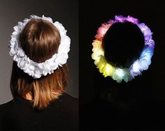 These LED crowns are perfect for EDC or any Insomniac Event that goes super late into the night. Your outfit is going to hide in the night, but with an awesome LED piece like this, you'll stand out no...
