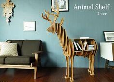 アニマルシェルフ Deer