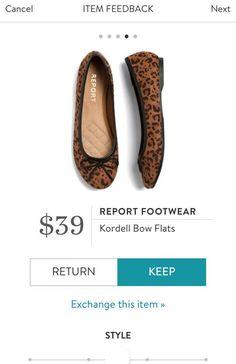 REPORT FOOTWEAR Kordell Bow Flats from Stitch Fix. https://www.stitchfix.com/referral/4292370