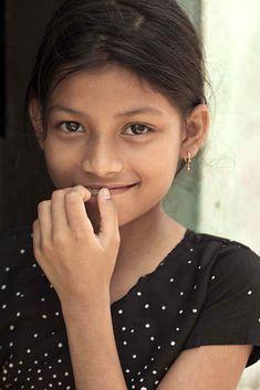 Cochin girl, India.