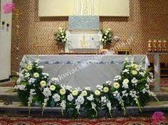 Znalezione obrazy dla zapytania dekoracja kwiatowa kościoła