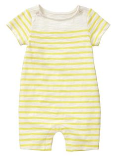 gap striped button one piece